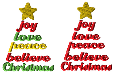 Christmas Tree Sayings 1 Mini