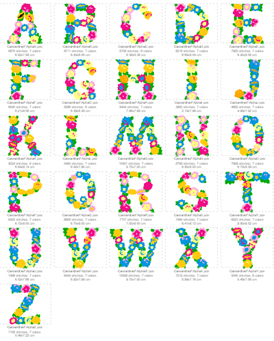 S Alphabet In Flowers Flower Alphabet Related Keywords & Suggestions - Flower Alphabet Long ...