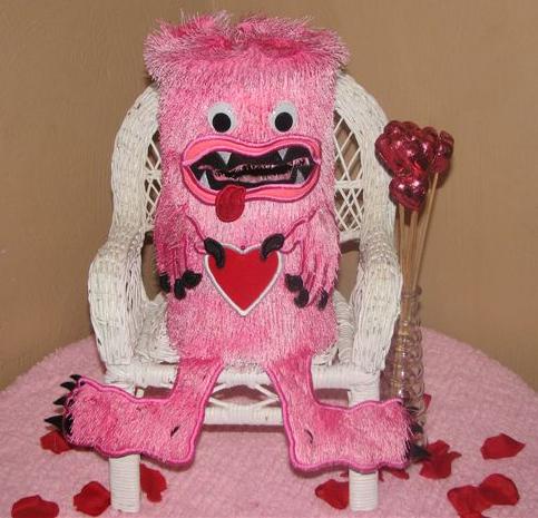 Love Monster Valentine Box Set 5x7 Hoop: $12.00, Sale Price $6.00